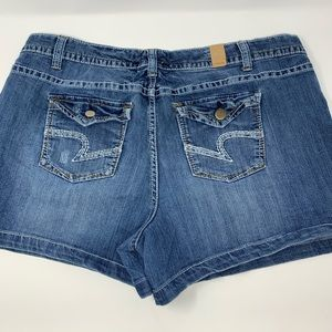 MAURICES Jean Shorts Size 20